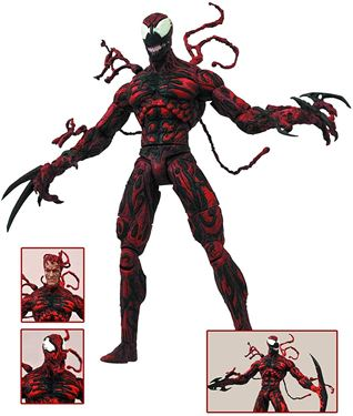 תמונה של MARVEL SELECT CARNAGE ACTION FIGURE