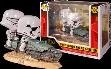 תמונה של מלחמת הכוכבים - STAR WARS EPISODE 9 FIRST ORDER TREAD SPEEDER POP