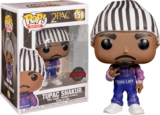 תמונה של 2PAC TUPAC SHAKUR EXCLUSIVE POP