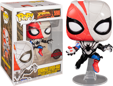 תמונה של ספיידרמן - SPIDER-MAN:MAXIMUM VENOM VENOMIZED SPIDER-MAN EXCLUSIVE POP