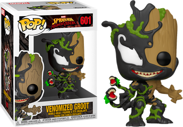 תמונה של גרוט ונום - SPIDER-MAN:MAXIMUM VENOM VENOMIZED BABY GROOT POP