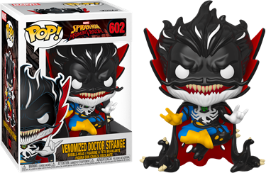 תמונה של דוקטור סטריינג' ונום - SPIDER-MAN:MAXIMUM VENOM VENOMIZED DOCTOR STRANGE POP