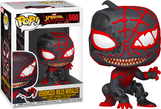 תמונה של מיילס מוראלס ונום - SPIDER-MAN:MAXIMUM VENOM VENOMIZED MILES MORALES POP