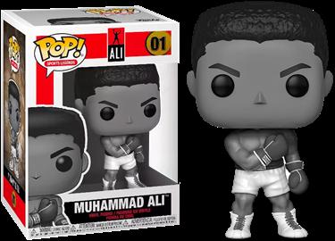 תמונה של מוחמד עלי - MUHAMMAD ALI BLACK AND WHITE EXCLUSIVE POP