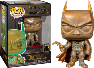 תמונה של באטמן - BATMAN PATINA 80TH ANNIVERSARY EXCLUSIVE POP