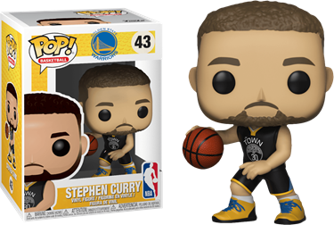 תמונה של סטפן קרי - NBA GOLDEN STATE WARRIORS STEPHEN CURRY POP