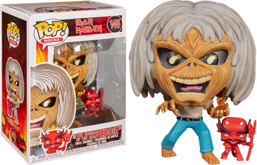 תמונה של איירון מיידן - IRON MAIDEN THE NUMBER OF THE BEAST EDDIE POP