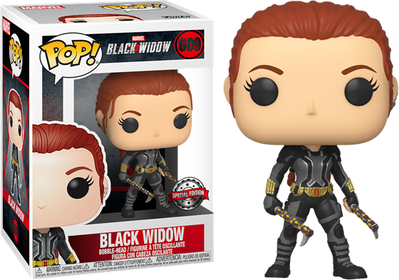 תמונה של BLACK WIDOW BLACK WIDOW IN GREY SUIT EXCLUSIVE POP