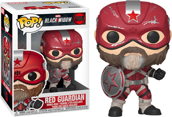 תמונה של BLACK WIDOW RED GUARDIAN POP