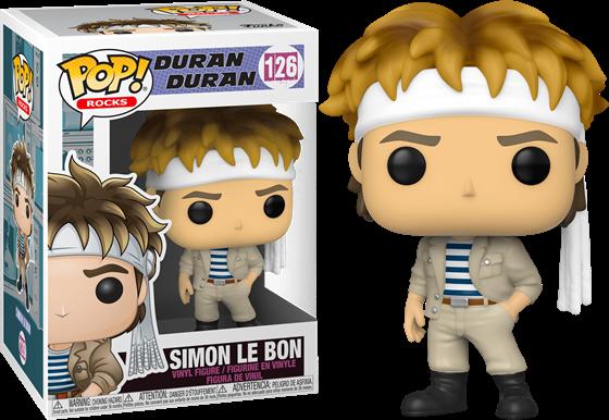 תמונה של דוראן דוראן - DURAN DURAN SIMON LE BON POP