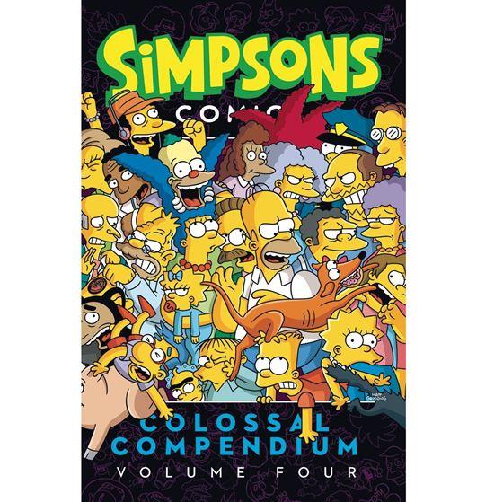 תמונה של משפחת סימפסון - SIMPSONS COMICS COLOSSAL COMPENDIUM