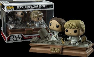תמונה של מלחמת הכוכבים - STAR WARS LEIA AND LUKE MOVIE MOMENTS EXC POP