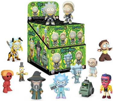 תמונה של ריק ומורטי - RICK AND MORTY SERIES 2 MYSTERY MINIS