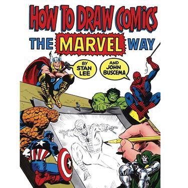 תמונה של איך לצייר קומיקס - HOW TO DRAW COMICS THE MARVEL WAY