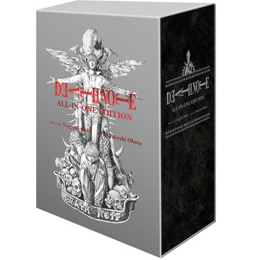 תמונה של מחברת המוות - DEATH NOTE SLIPCASE GN ALL IN ONE EDITION