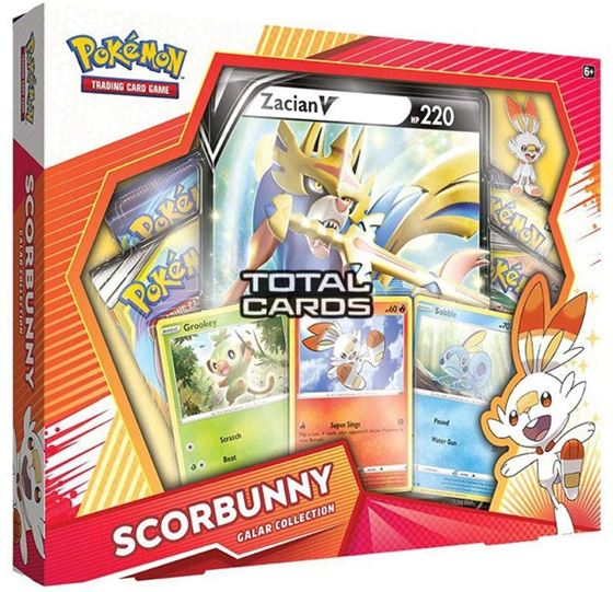 תמונה של POKEMON SCORBUNNY GALAR COLLECTION