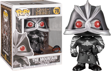 תמונה של משחקי הכס - GAME OF THRONES THE MOUNTAIN 6INCH EXC POP