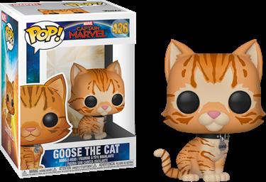 תמונה של קפטן מארוול - CAPTAIN MARVEL GOOSE THE CAT POP