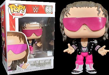 תמונה של ברט הארט - WWE BRET HIT MAN HART POP
