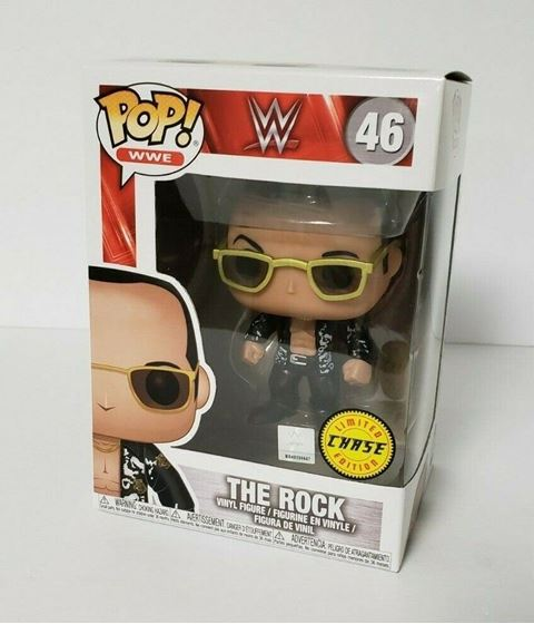 תמונה של WWE THE ROCK CHASE POP