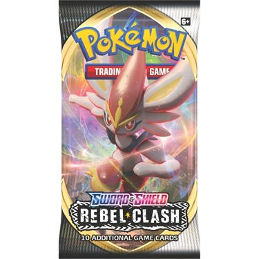 תמונה של פוקימון - POKEMON SWORD AND SHIELD REBEL CLASH BOOSTER PACK