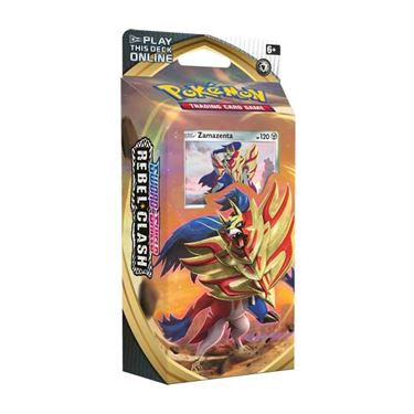 תמונה של פוקימון - POKEMON SWORD AND SHIELD REBEL CLASH ZAMAZENTA DECK