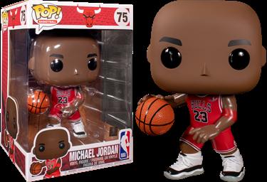 תמונה של מייקל ג'ורדן - NBA MICHAEL JORDAN 10-INCH POP