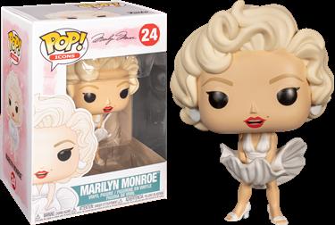 תמונה של מרילין מונרו - MARILYN MONROE IN WHITE DRESS POP