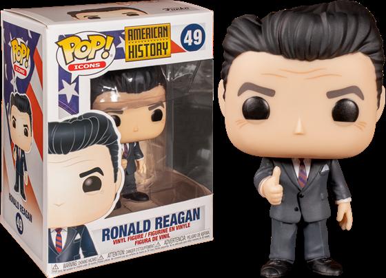 תמונה של AMERICAN HISTORY RONALD REAGAN POP