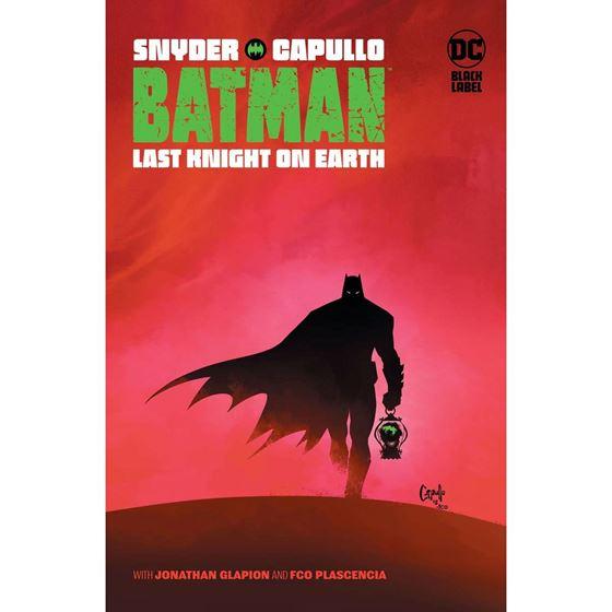 תמונה של באטמן - BATMAN LAST KNIGHT ON EARTH HC