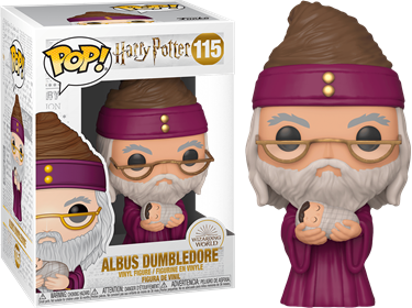 תמונה של הארי פוטר - HARRY POTTER DUMBLEDORE WITH BABY HARRY POP