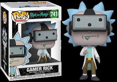 תמונה של ריק ומורטי - RICK AND MORTY GAMER RICK EXCLUSIVE POP