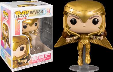 תמונה של וונדר וומן - WONDER WOMAN 1984 WONDER WOMAN GOLDEN ARMOR FLYING POP