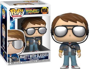 תמונה של בחזרה לעתיד - BACK TO THE FUTURE MARTY WITH GLASSES POP
