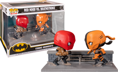 תמונה של RED HOOD VS. DEATHSTROKE COMIC MOMENTS POP