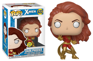 תמונה של אקס-מן - X-MEN DARK PHOENIX GLOW IN THE DARK EXCLUSIVE POP