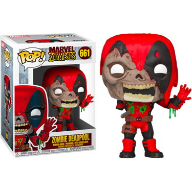 תמונה של דדפול - MARVEL ZOMBIES ZOMBIE DEADPOOL POP