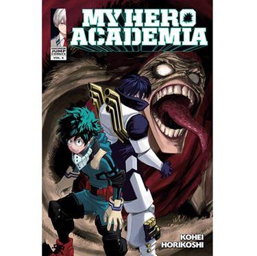 תמונה של אקדמיית הגיבורים שלי - MY HERO ACADEMIA VOL 06