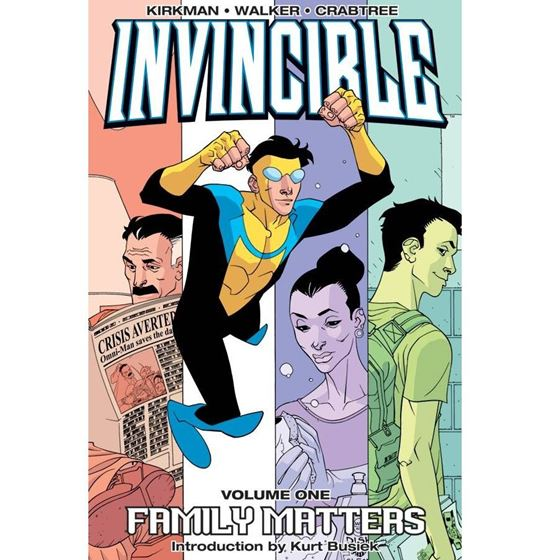 תמונה של INVINCIBLE TP VOL 01 FAMILY MATTERS