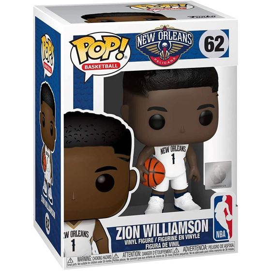 תמונה של NBA NEW ORLEANS PELICANS ZION WILLIAMSON POP