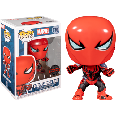 תמונה של ספיידרמן - SPIDER-MAN SPIDER-ARMOR MKIII EXCLUSIVE POP