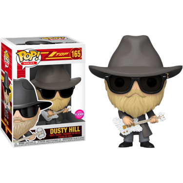 תמונה של ZZ TOP DUSTY HILL FLOCKED POP