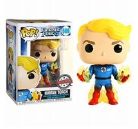 תמונה של FANTASTIC FOUR HUMAN TORCH EXCLUSIVE POP