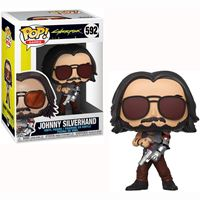תמונה של CYBERPUNK 2077 JOHNNY SILVERHAND WITH GUNS POP