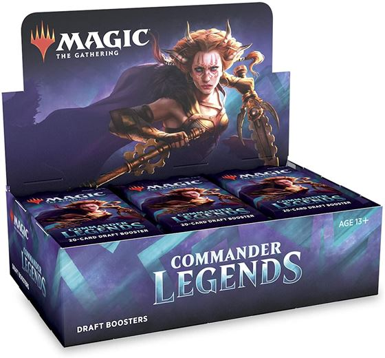תמונה של MAGIC THE GATHERING; COMMANDER LEGENDS BOOSTER BOX