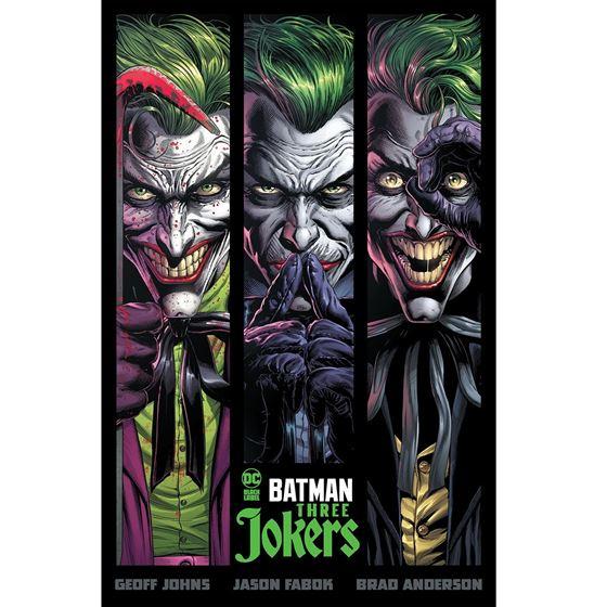 תמונה של שלושת הג'וקרים - BATMAN THREE JOKERS HC