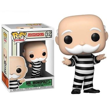 תמונה של מר מונופול - MONOPOLY CRIMINAL UNCLE PENNYBAGS POP
