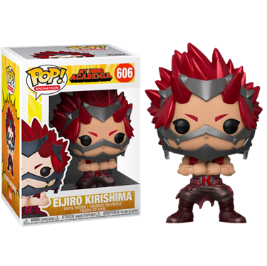 תמונה של אקדמיית הגיבורים - MY HERO ACADEMIA ELJIRO KIRISHIMA METALLIC EXC POP
