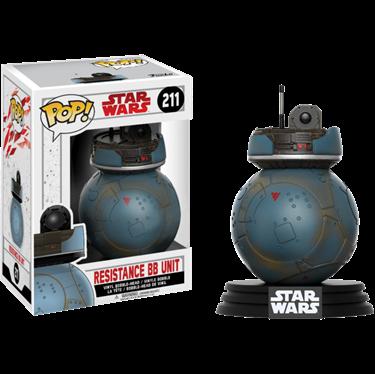 תמונה של מלחמת הכוכבים - STAR WARS E8 RESISTANCE BB UNIT EXC POP