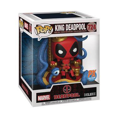 תמונה של המלך דדפול - KING DEADPOOL ON THRONE PX POP